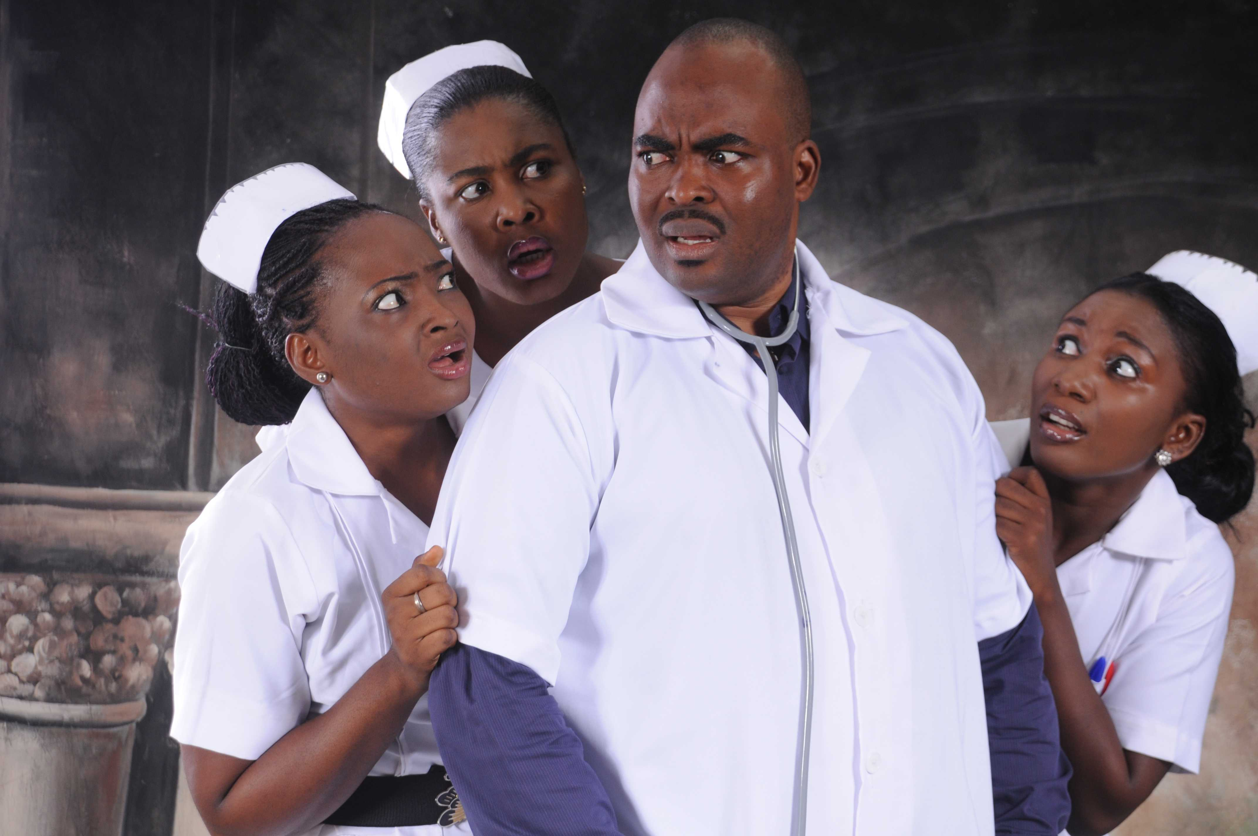 Clinic: actors of a comedy series
