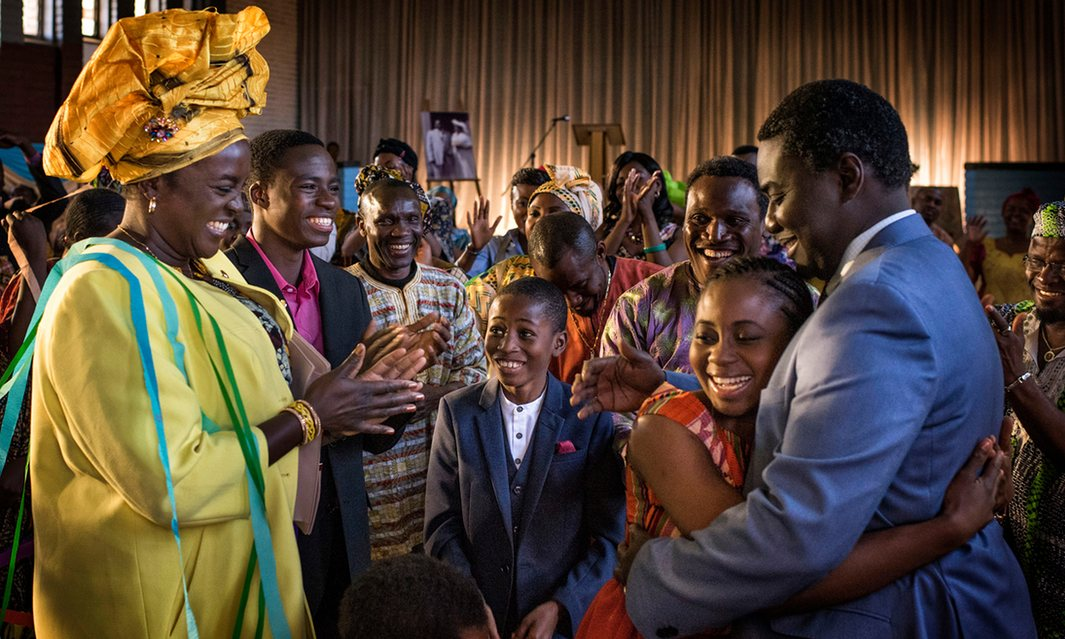 'What drew me to this was the people who had to go through this – and how they fought to stay united' … Addai started his telling of the Taylor family's story in Nigeria. Photograph: Joe Alblas/BBC/Minnow Films