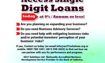 Access Single Digit Loan At 9% per Annum or less- www.connectnigeria.com