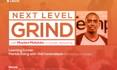Startup Grind Hosts Muyiwa Matuluko, Co-founder of Techpoint.ng, in August - www.connectnigeria.com