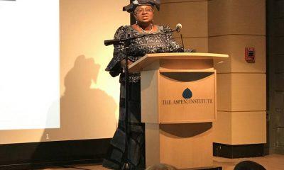 Ngozi Okonjo Iweala Receives the 2017 Aspen Institute Madeleine Albright Award - www.connectnigeria.com