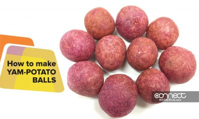 How To Make Yam-Potato Balls.