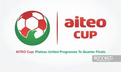 AITEO CUP: Plateau United Progresses to Quater-finals