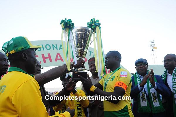 Plateau United Emerges NPFL Champions