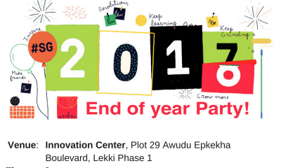Startup Grind Lagos& Mesh Network Hosts End of The Year Entrepreneur Party