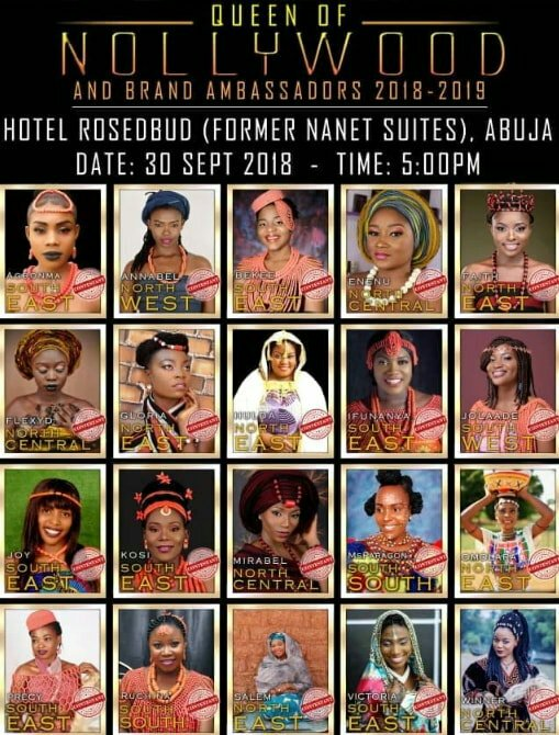 Queen Of Nollywood Reality TV Show