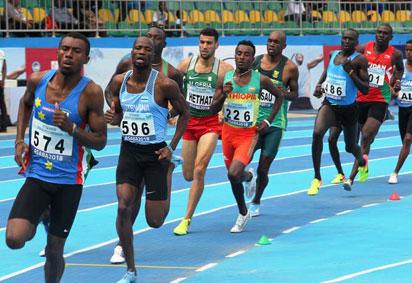 Nigerian Decathletes