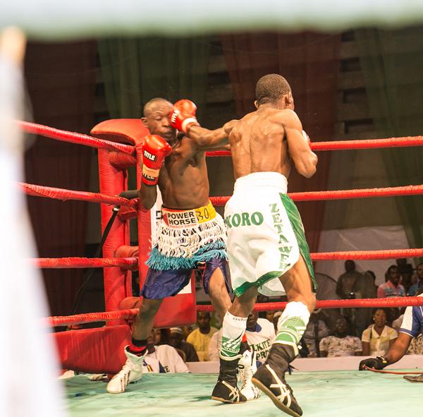 WBF Title Fight