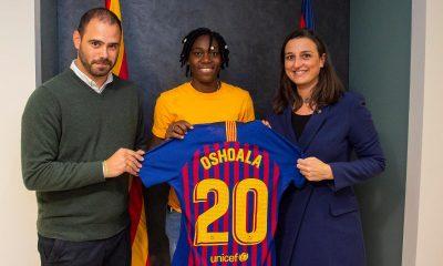 Asisat Oshoala barcelona
